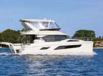 Aquila 44 – A newly refreshed cool cat arrives on the West Coast.