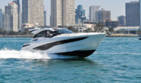 Galeon 445 HTS – A Polish builder looks to make U.S. inroads with a nationwide distributor and an express boat with family appeal.