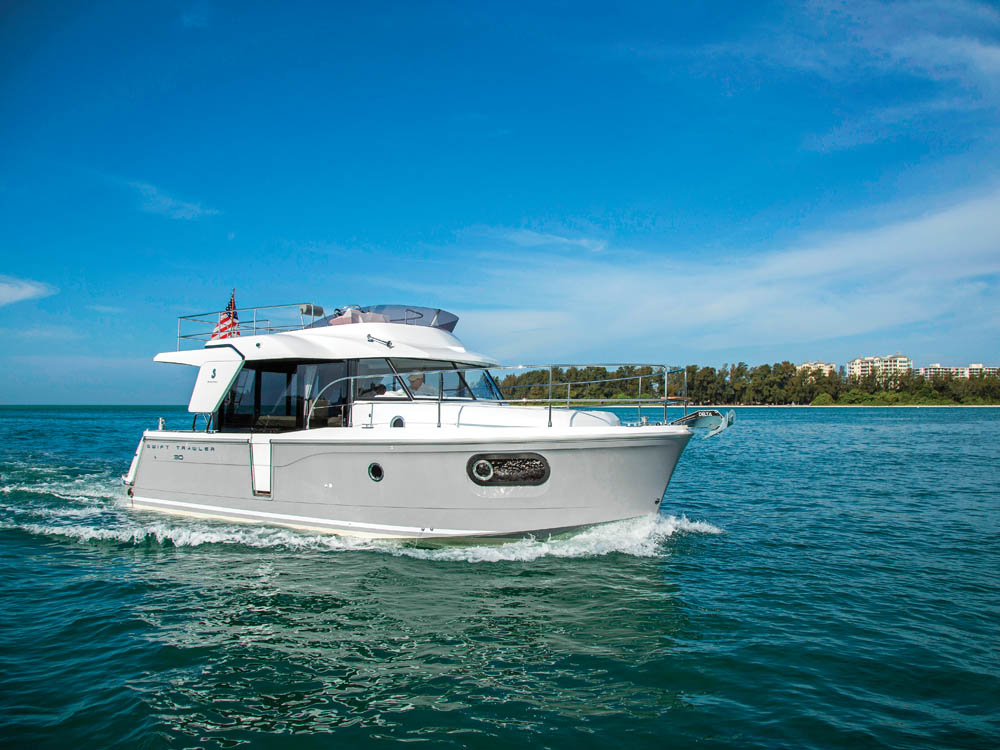 Beneteau Swift Trawler 30 in Sarasota FL