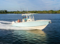 Cobia 277 – It's definitely a fishing machine, but not at the exclusion of the non-anglers.