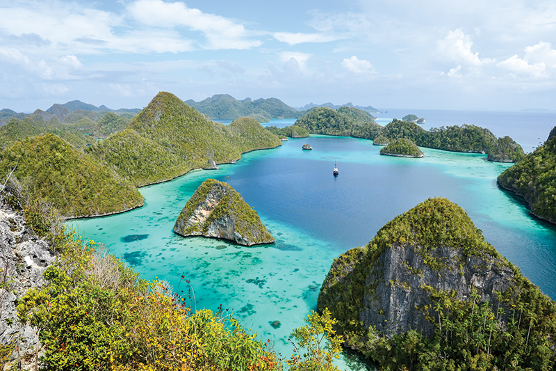 Raja Ampat Wayag is a favorite Indonesian location for the Further crew.