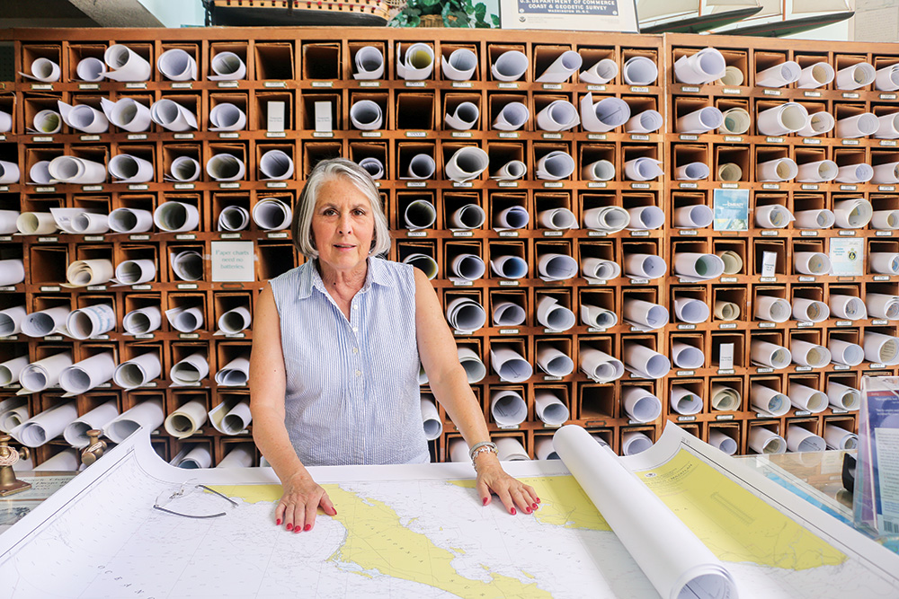 Hundreds of newly updated GPS charts for Mexico are available at Seabreeze Nautical Books and Charts in San Diego, which so far is the single source in the U.S. Store owner Capt. Ann Kinner helps cruising boaters and sportfishers pick the right Mexico charts for their needs.