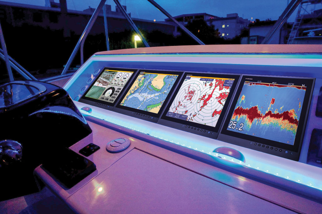 While manufacturers such as Raymarine, Furuno, Simrad and others have the most advanced radar and chartplotting capabilities, boaters should always know how to navigate without such instruments.