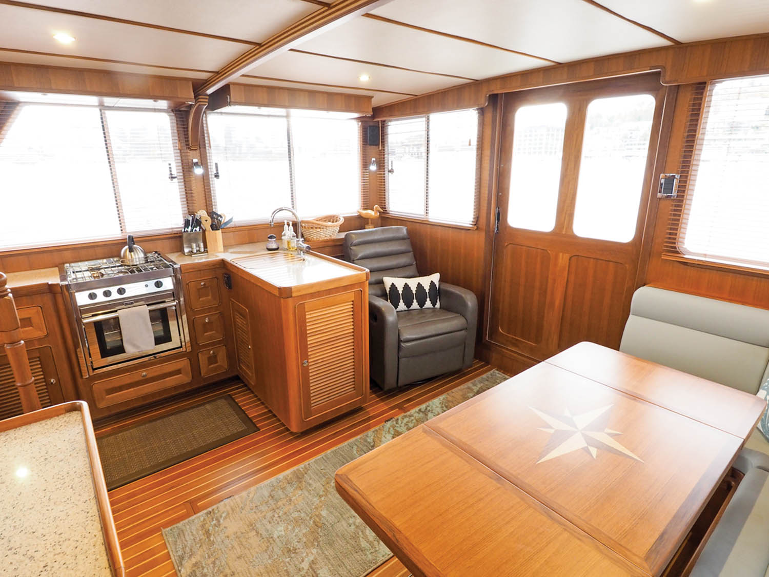 Helmsman 38E Pilothouse - Sea Magazine