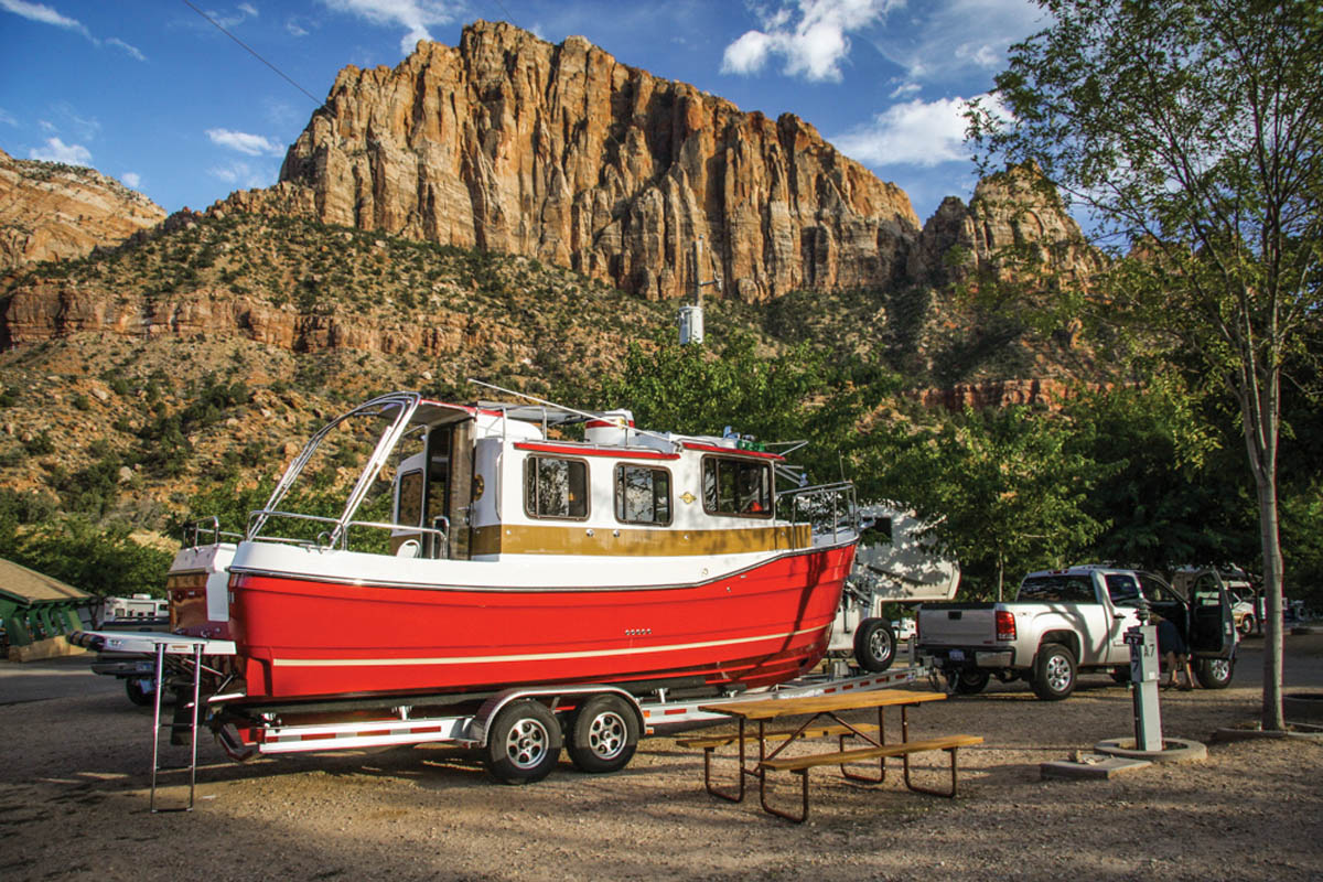 Ranger Boat Zion National Park
