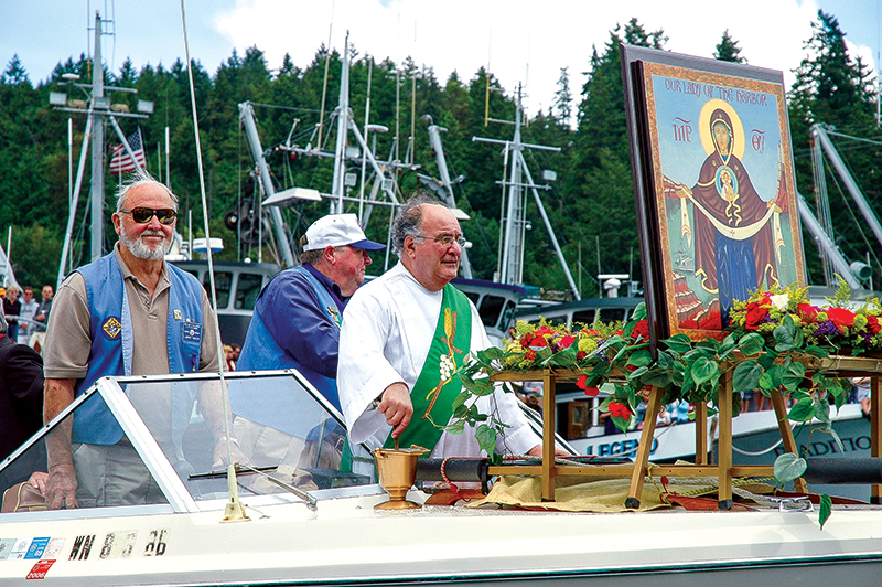 Gig Harbor - Blessing the fleet and then eveything that floats.