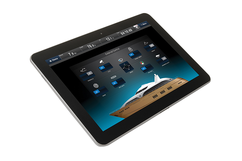 Raymarine Digital Switching on Tablet